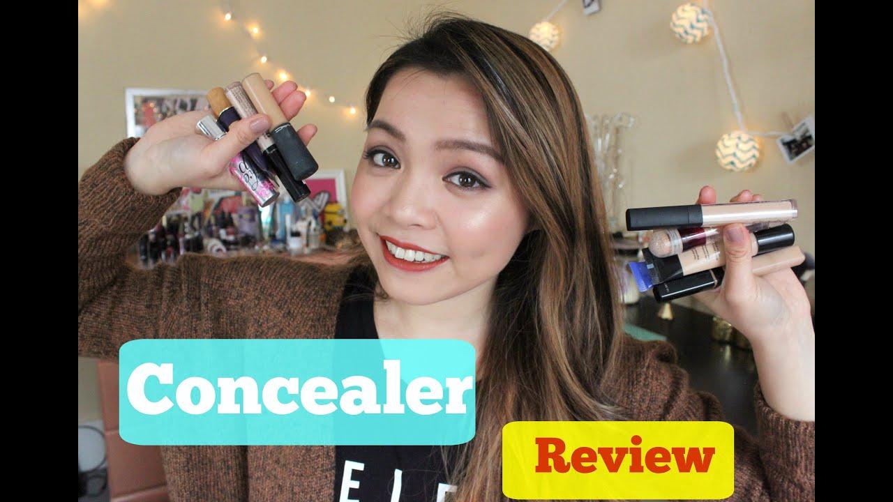 Tất Tần Tật về Kem Che Khuyết Điểm ♡ Concealer Review ♡ TrinhPham