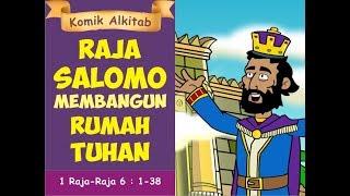 Video RAJA SALOMO MEMBANGUN RUMAH TUHAN - slide film animasi alkitab rohani kristen anak sekolah minggu download MP3, 3GP, MP4, WEBM, AVI, FLV Agustus 2018