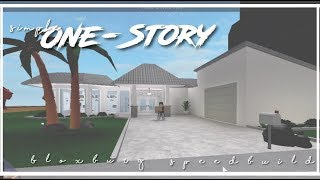 Roblox | Bloxburg | Simple One Story House