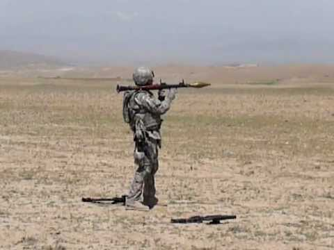 Real Life Modern Warfare - RPG-7 My First Shot In Afghanistan By: KDtech.org