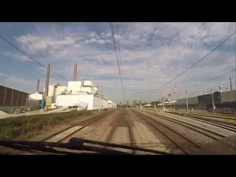 A train driver's view: Maastricht - Alkmaar, VIRM, 03-Oct-2015.