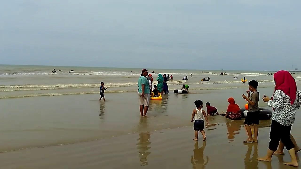 Pantai Caruban Lasem - Pantai Indah Dengan Pasir Putih Di Rembang