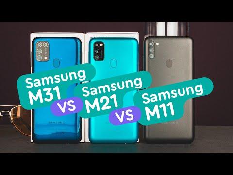 Samsung M31 Vs Samsung M21 Vs Samsung M11 - Кто лучше?