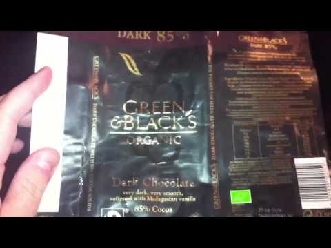 Chocolate bar review, green & blacks and Lindt
