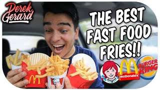 WHO HAS THE BEST FRIES?! | Fast Food Olympics