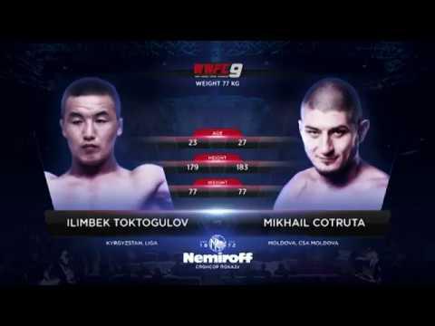MIHAIL COTRUTA - ILIMBEK TOKTOGULOV: WWFC 9