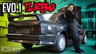 Stern Garage - EVO 1 mit über 500PS?! | Mercedes Benz W201 EV0 1 M111 Turbo