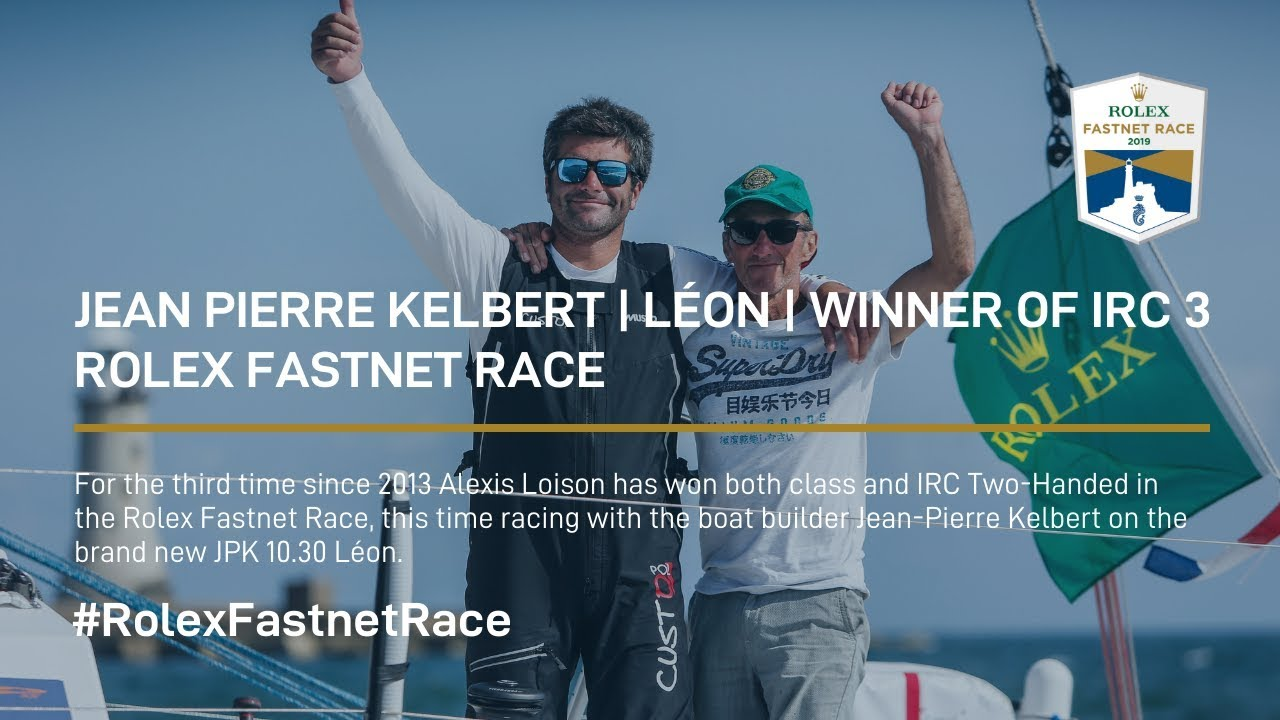 Jean Pierre Kelbert | Léon | Winner of IRC 3