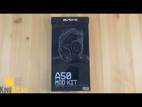 NEW Astro A50 Wireless Mod Kit Installation & Review