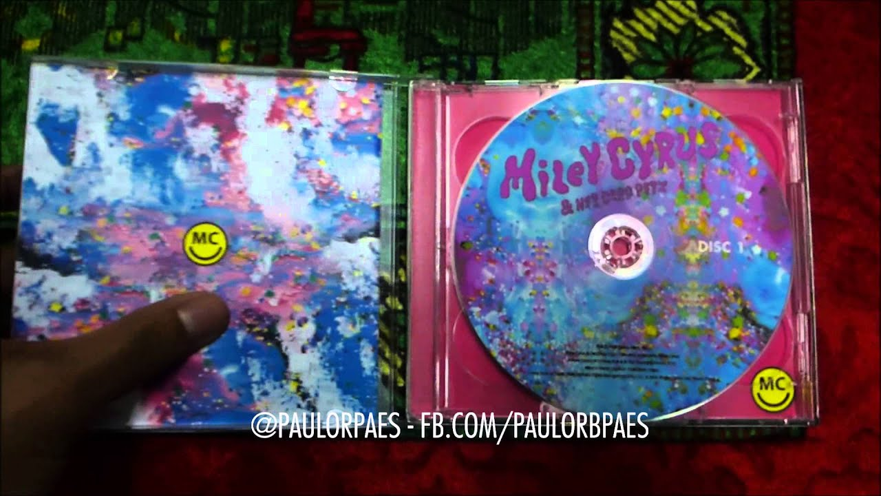 miley cyrus and her dead petz unboxing fan made cd youtube