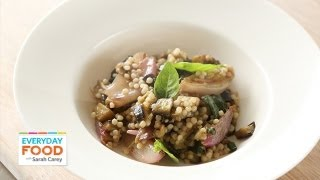 Eggplant Salad With Israeli Couscous - Everyday Food With Sarah Carey