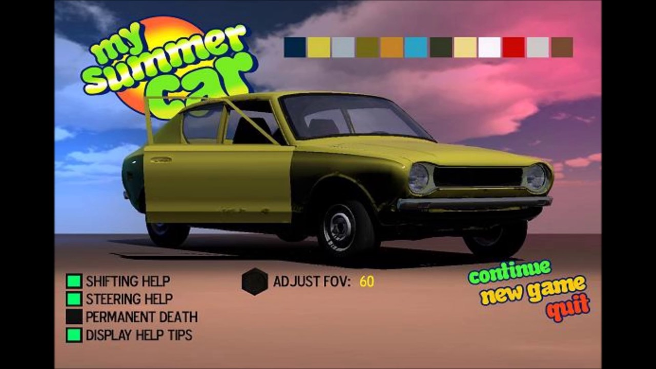 Summer Car FeelsGoodMan