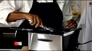 Chef Cassy's Fried Collard Greens