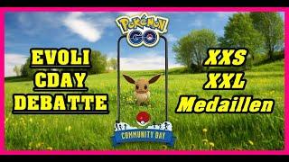 Evoli CDAY Debatte & XXS / XXL Medaillen ? | Pokémon GO Deutsch # 1481