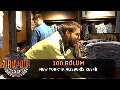 New York'ta alışveriş keyfi!   100. Bölüm   Survivor 2018