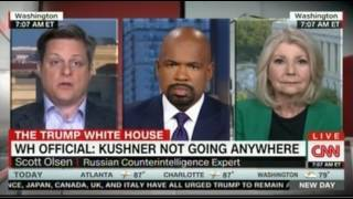 CNN Panel discussion on the fallout Trump faces as he arrives home over back channels to Russia and