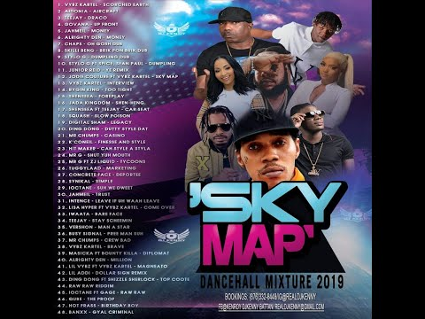 DJ KENNY SKY MAP DANCEHALL MIX DEC 2019