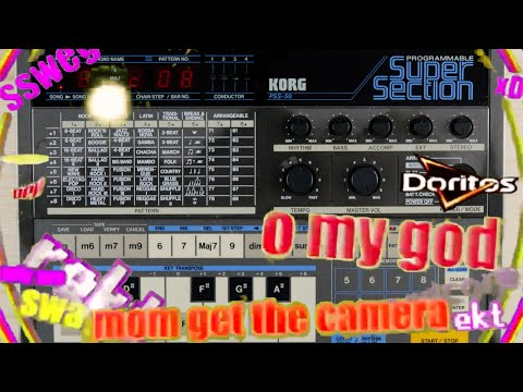 Bad Gear - Korg PSS-50 SuperSection - Demo Songs (all of them)