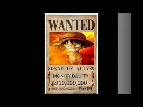 lệnh truy nã đặc biệt của One Piece sắp tới