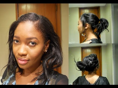 easy heatless hairstyles relaxed