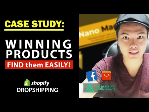 Shopify Dropshipping: How To Identify Winning Products EASILY (Tutorial) thumbnail