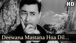 Deewana Mastana Hua Dil Jaane - Bombai Ka Babu - Dev Anand - Suchitra Sen - Bollywood Songs