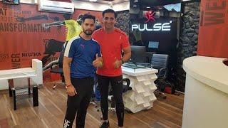 One of the best gym Interiors . #GymTour | #Day301 | Pulse Gym | Rajouri Garden | Delhi | India