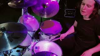 Long Train Running drum cover (live band)