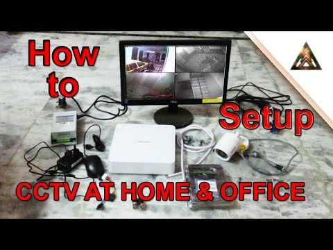 HOW TO INSTALL CCTV CAMERA ? COMPLETE GUIDE