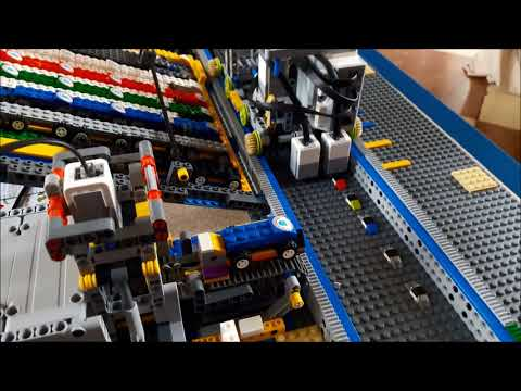 LEGO Mindstorms Automatic Car Factory