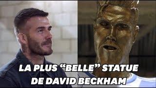 Une statue de David Beckham aussi ratée que celle de Ronaldo
