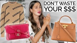 11 Luxury Investment Pieces Actually WORTH YOUR MONEY $$$