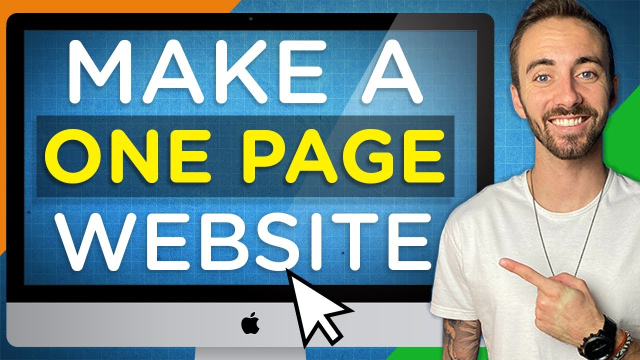 How To Create A One-Page Website (In WordPress)