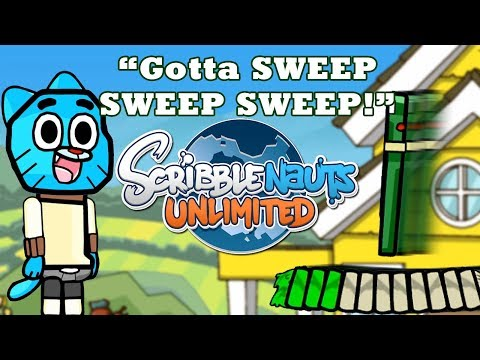 Scribblenauts Unlimited 287 GOTTA SWEEP from Baldi's Basics & GUMBALL
