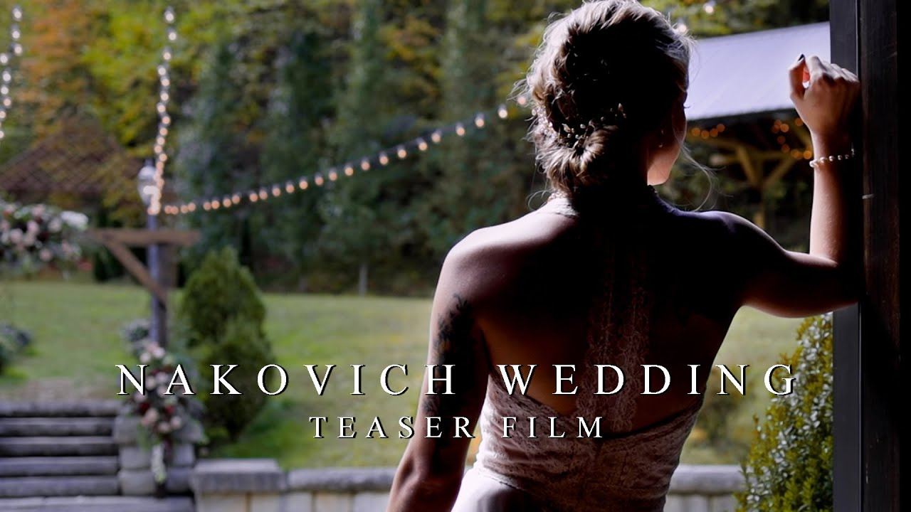 Cinematic Wedding Teaser // Nakovich Wedding // The Barn At Chestnut Springs // Gatlinburg, TN