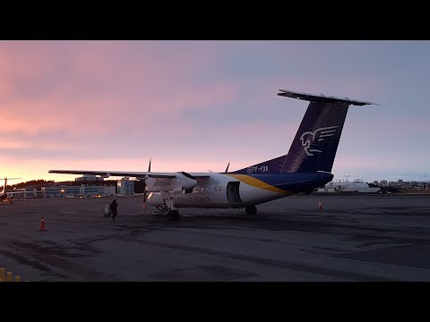 Air Iceland Connect Q200 ✈ Reykjavik to Egilsstadir