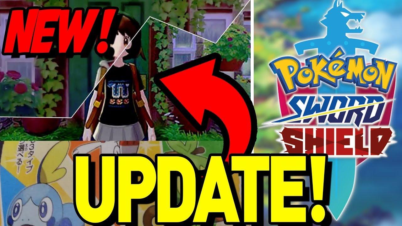 16 83 Mb New Pokemon Sword And Shield Update Custom Clothing