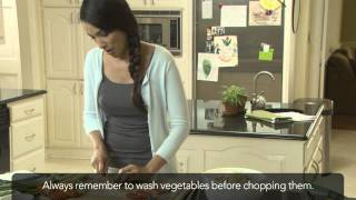 Chopping Green Onion Video