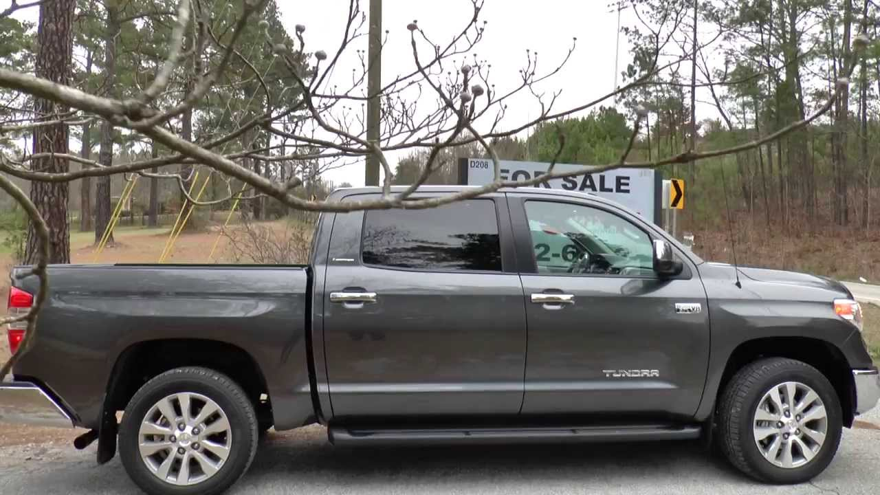 Quick Look at 2014 Toyota Tundra Limited 4X4 CrewMax 5.7L V8 - YouTube