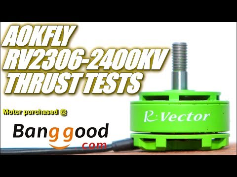 AOKFLY RV2306-2400KV Overview & Thrust Tests
