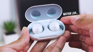 Review Samsung Galaxy Buds! - MAYAN LAH..