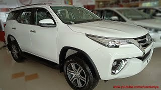 Toyota 2018 Fortuner 2WD Manual Transmission-All Features Covered