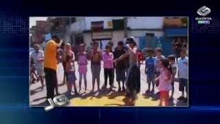 Conheça a história do rapper Snyper, que também dá aulas de kung fu para crianças carentes