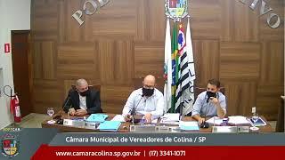 Câmara Municipal de Colina - 8ª Sessão Extraordinária 16/06/2021