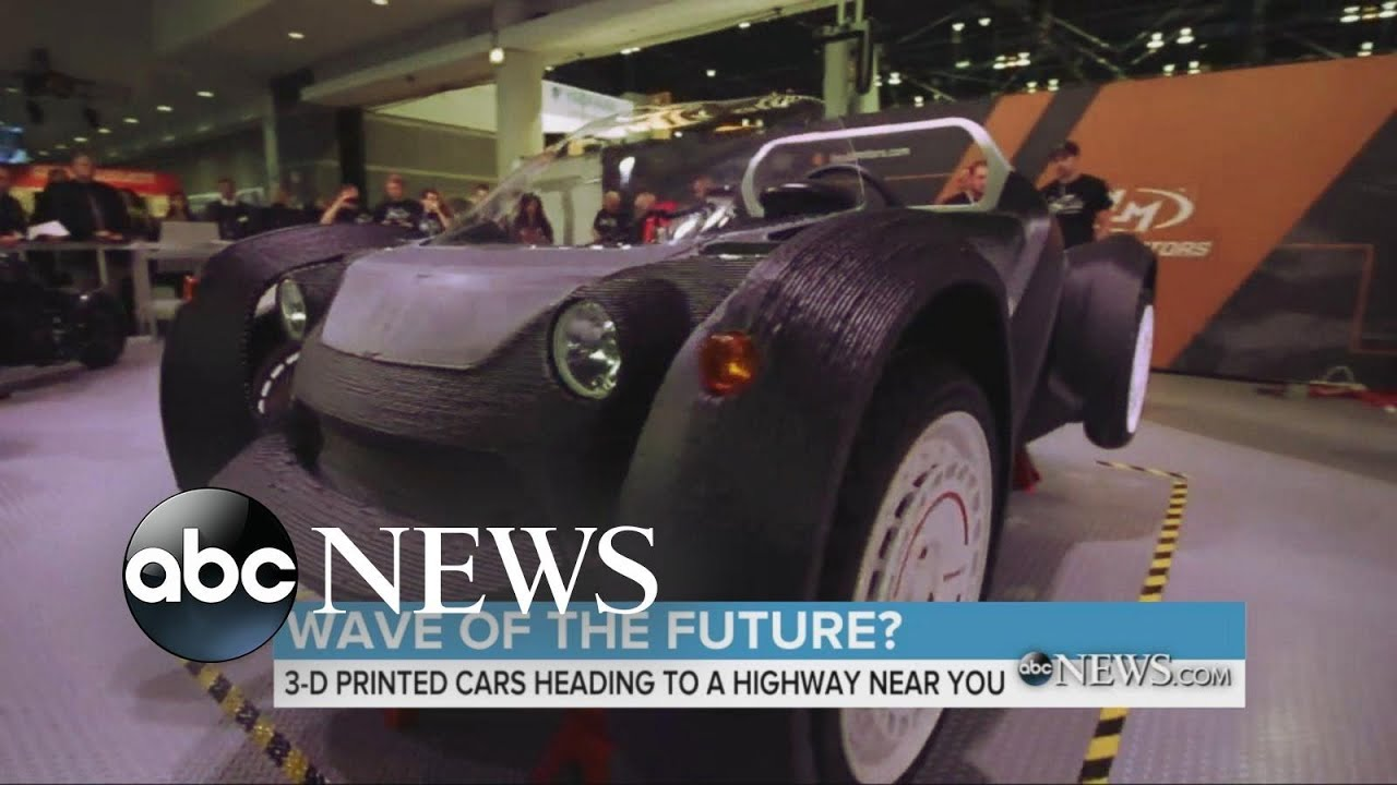 Coming Soon: 3D-Printed Cars
