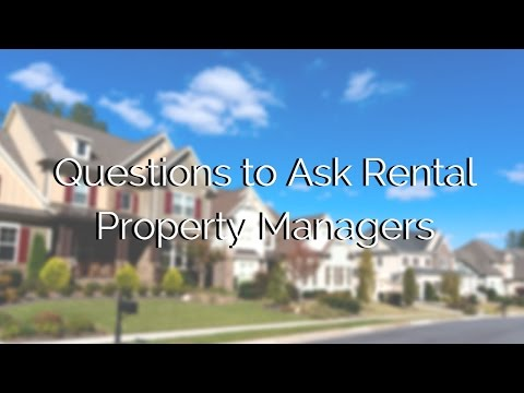 Questions to Ask Rental Property Managers in Indianapolis, IN