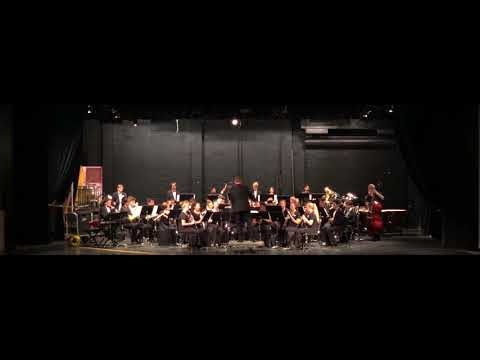 Devil's Drive — Benicia High School Wind Ensemble at Vallejo Band Review 2018