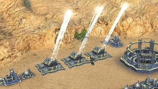 4 Friends Bullying Each Other with Artillery in Supreme Commander 2