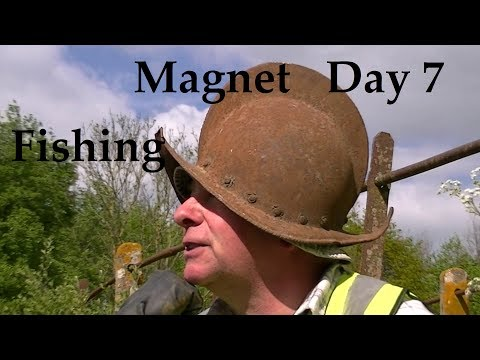 Magnet Fishing Day 7 - The Knot Man - Treasure Hunting - Cut Mill, Sturminster Newton, Dorset