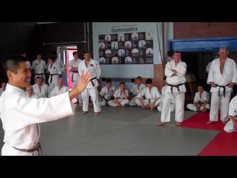 No 9 Inoue Yoshiomi Sensei at the British Aikido Association Summer School 2016